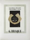 Af 1946 - Galerie Maeght Sammlerdrucke von Georges Braque