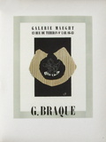 AF 1946 - Galerie Maeght Collectable Print by Georges Braque