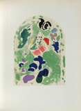 Jerusalem Windows : Issachar (Sketch) Collectable Print by Marc Chagall