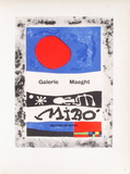 AF 1953 - Galerie Maeght Collectable Print by Joan Miró