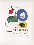 Af 1947 - Galerie Maeght コレクターズプリント : ジョアン・ミロ