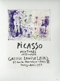 AF 1957 - Galerie Louise Leiris Stampe da collezione di Pablo Picasso