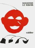 Derrier le Mirroir, no. 221: Couverture Impressão colecionável por Alexander Calder