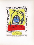 AF 1957 - Galerie Matarasso Collectable Print by Joan Miró