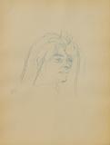 Dessins : Tête de femme de trois-quart Collectable Print by Henri de Toulouse-Lautrec