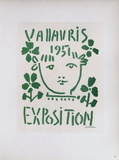 AF 1951 - Exposition Vallauris Sammlerdrucke von Pablo Picasso
