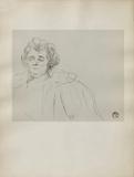 Dessins : Madame Baron Collectable Print by Henri de Toulouse-Lautrec