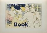 The chap book Collectable Print by Henri de Toulouse-Lautrec