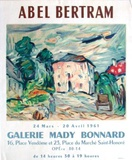 Expo Galerie Mady Bonnard Collectable Print by Abel Bertram