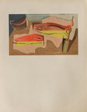 Nature morte aux poissons Prints by Louis Marcoussis