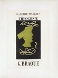 AF 1954 - Galerie Maeght Samlertryk af Georges Braque
