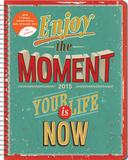 Enjoy the Moment Large Flexi Planner - 2015 Engagement Calendar Calendars