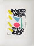 AF 1956 - Exposition peinture Vallauris Sammlerdruck von Pablo Picasso