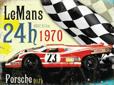 Le Mans 24h 1970 Tin Sign