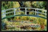 Le Pont Japonais a Giverny Poster by Claude Monet