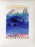 AF 1956 - Planétarium Samlertryk af Raoul Dufy