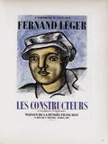 AF 1951 - Maison De La Pensée Française Samlarprint av Fernand Leger