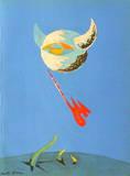 Lune Samlertryk af André Masson