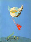 André Masson - Lune Sběratelské reprodukce