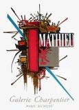 Galerie Charpentier Samlartryck av Georges Mathieu