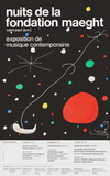 Joan Miró - Nuits de la Fondation - Koleksiyonluk Baskılar
