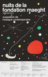 Nuits de la Fondation コレクターズプリント : ジョアン・ミロ