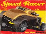 Speed Racer Plaque en métal