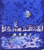 Paris La Nuit IV Collectable Print by  Fujisawa