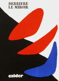 Derrier le Mirroir, no. 190: Composition I Collectable Print by Alexander Calder