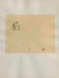 Dessins : Madamoiselle Popo Collectable Print by Henri de Toulouse-Lautrec