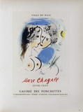 AF 1958 - Galerie Des Ponchettes Collectable Print by Marc Chagall