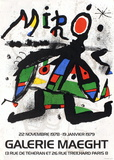 Galerie Maeght, 1979 Collectable Print by Joan Miró