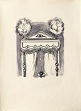 La Princesse de Babylone 14 (Suite couleur) Reproduction pour collectionneur par Kees van Dongen