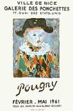 Expo Nice 61 Collectable Print by Jean Pougny