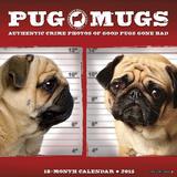 Pug Mugs - 2015 Mini Calendar Calendars