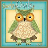 Simply Owls - 2015 Calendar Calendars