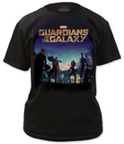 Guardians of the Galaxy - Poster Shirt