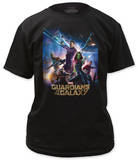 Guardians of the Galaxy - Movie Poster T-shirts