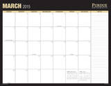 Purdue University - 2015 16 Month Desk Blotter Calendars