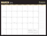 Purdue University - 2015 16 Month Desk Blotter Calendars