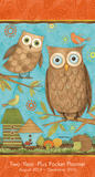 Owls by Debbie Mumm - 2015 Checkbook/2-Year Pocket Planner Calendar Calendars
