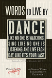 Words to Live By - 2015 Engagement Calendar Calendars