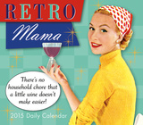 Retro Mama - 2015 Boxed/Daily Calendar Calendars