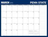 Penn State University - 2015 Desk Blotter Calendars