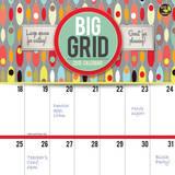 Big Grid: Design - 2015 Calendar Calendars