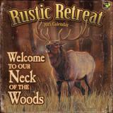 Rustic Retreat - 2015 Calendar Calendars