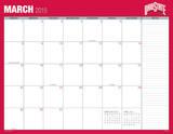 Ohio State University - 2015 16 Month Desk Blotter Kalendere