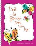 Scatter Joy by Kathy Davis - 2015 16 Month Spiral Planner Calendars