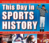 This Day in Sports History - 2015 Boxed/Daily Calendar Calendars