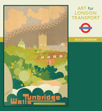 Art For London Transport - 2015 Calendar Calendars